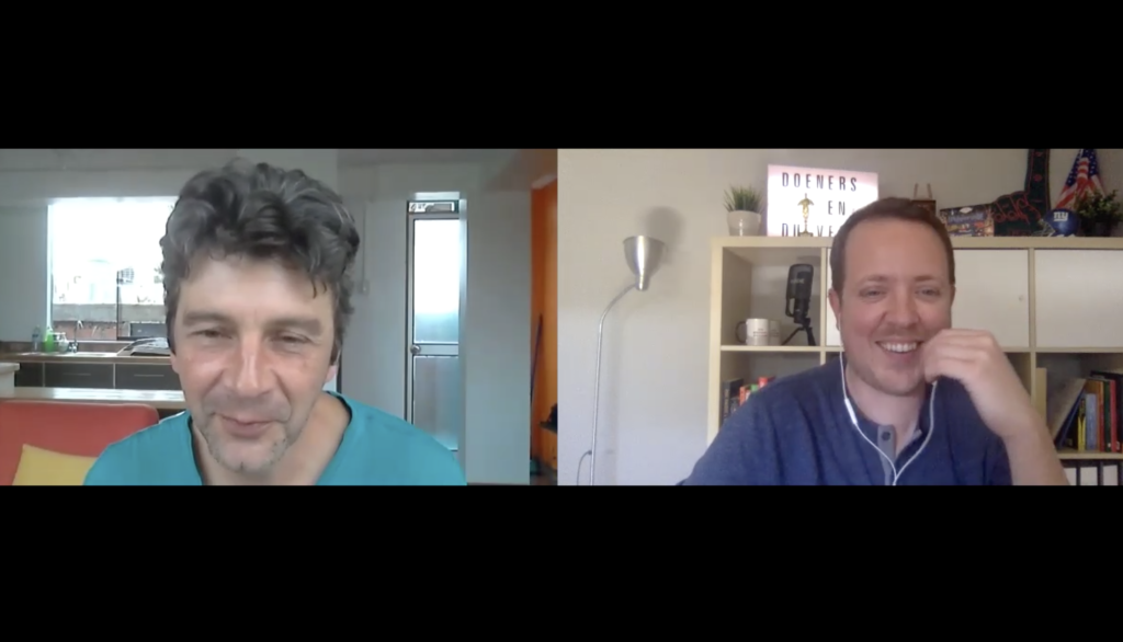video chat met John